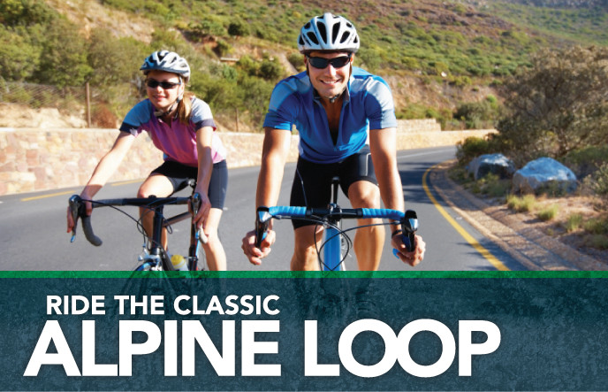 Ride the Classic Alpine Loop